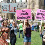 Girls against abortion