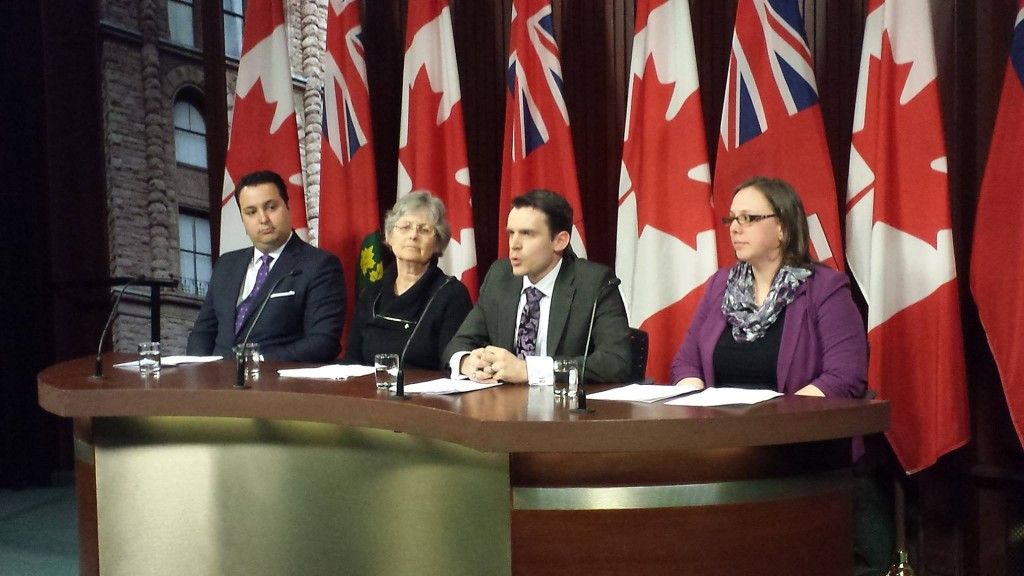 Challenging the Ontario government for withholding abortion statistics.