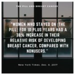 NYT: Causal link between the Pill and breast cancer